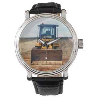Long_Day_Ahead,_Mens_Machinery_Tractor_Watch Wristwatch
