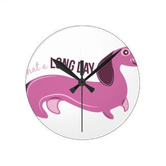 Long Day Round Clocks