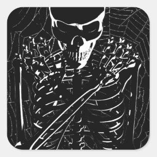 Long -Dead Skeleton Stickers