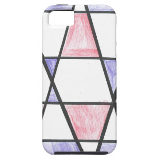 Long Diamond Motif iPhone 5 Case
