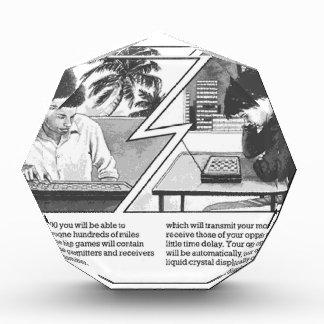 Long Distance Game - Vintage Magazine Article Award
