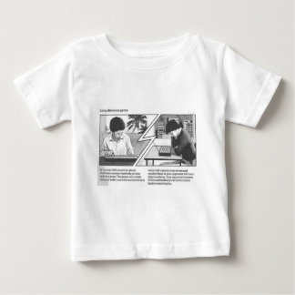 Long Distance Game - Vintage Magazine Article Baby T-Shirt