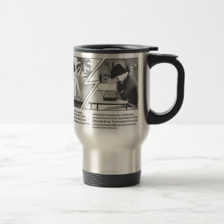 Long Distance Game - Vintage Magazine Article Travel Mug