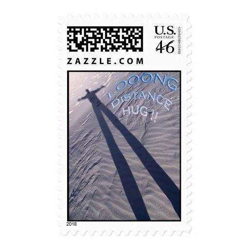 Long Distance Hug stamp