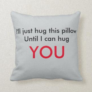 Long Distance Relationship Pillow