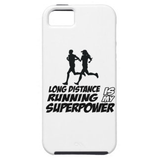 Long distance running iPhone 5 cover