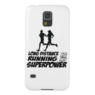 Long distance running galaxy s5 cover