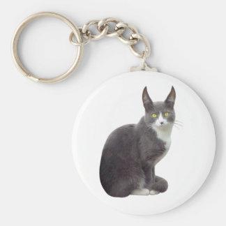 Long Eared Cat Key Chain
