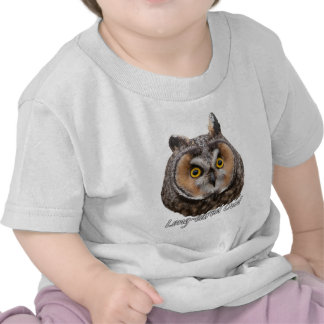 Long-eared Owl asio otis Tee Shirt