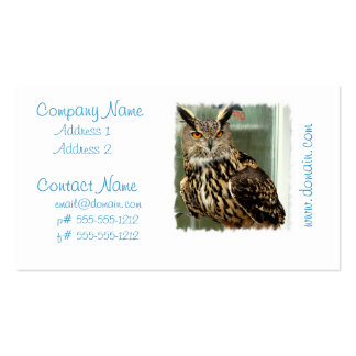 Long Eared Owl Business Cards