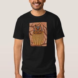 Long Eared Owl - lechuza de oreja de bosque Remera