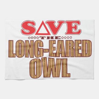Long-Eared Owl Save Towel