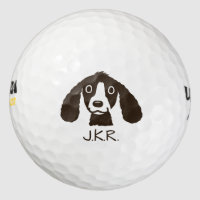 Long Ears Dog Golf Balls