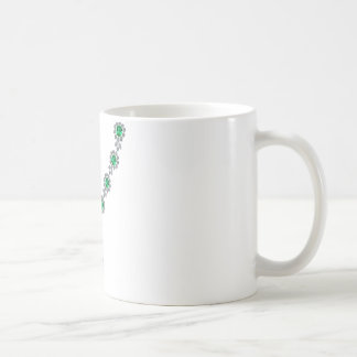 Long Emerald Necklace with Pendant Classic White Coffee Mug