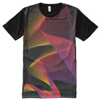 Long Exposure NightLight All-Over-Print T-Shirt
