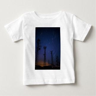 Long Exposure of Star Trails and Shooting Star.jpg Tee Shirt