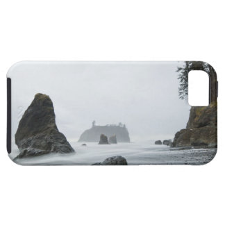 Long exposure of wave motion at Ruby Beach, iPhone SE/5/5s Case