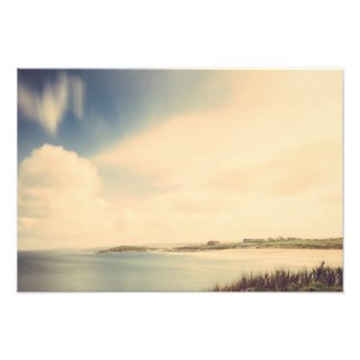 Long Exposure over Fistral Beach, Newquay Print Photographic Print