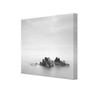 Long Exposure Rockscape Canvas Print