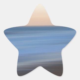 Long Exposure Surf Star Sticker