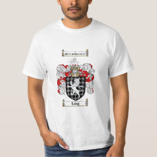 Long Family Crest - Long Coat of Arms Tee Shirts