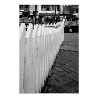 Long fence poster