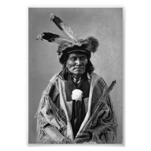 Long Fox-To-Can-Has-Ka. Tachana, Yankton Sioux Photograph