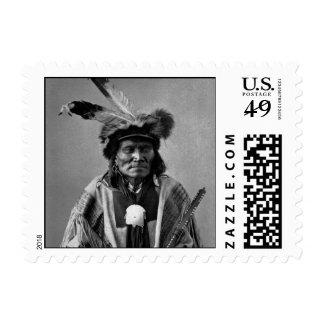 Long Fox-To-Can-Has-Ka. Tachana, Yankton Sioux Postage