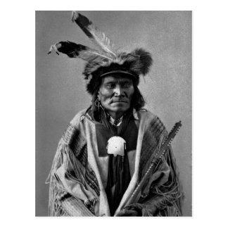 Long Fox-To-Can-Has-Ka. Tachana, Yankton Sioux Postcard