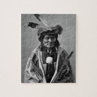 Long Fox-To-Can-Has-Ka Tachana Yankton Sioux Puzzle