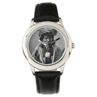 Long Fox-To-Can-Has-Ka. Tachana, Yankton Sioux Wrist Watches