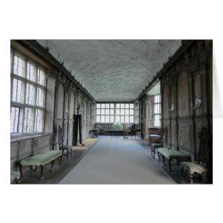 Long Gallery at Haddon Hall Card