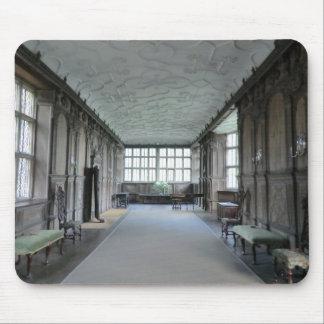Long Gallery at Haddon Hall Mouse Pad