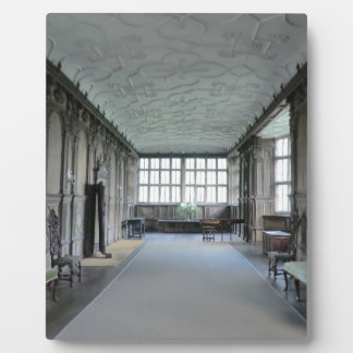 Long Gallery at Haddon Hall Plaque