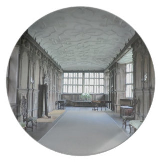 Long Gallery at Haddon Hall Dinner Plate