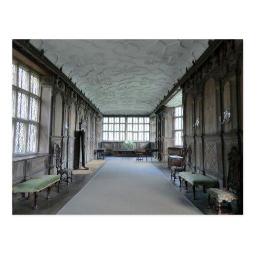 Long Gallery at Haddon Hall Postcard