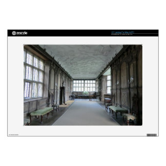 Long Gallery at Haddon Hall Laptop Decals
