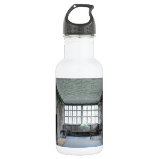 Long Gallery at Haddon Hall Water Bottle