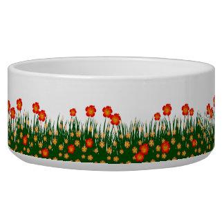 Long garden patch bowl