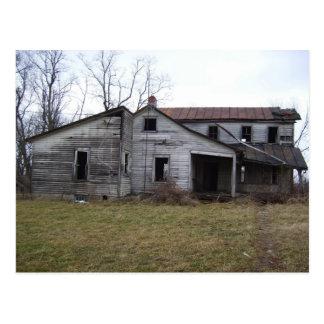Long Gone Farmstead Postcard