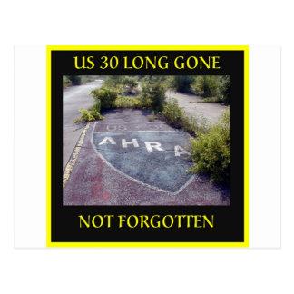 Long Gone Postcard