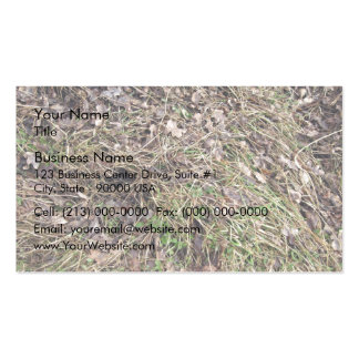 Long grass with leaves Double-Sided standard business cards (Pack of 100)