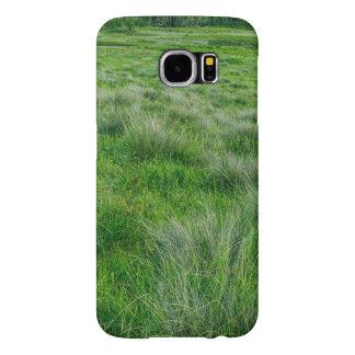 Long grasses in a vast grassland samsung galaxy s6 cases