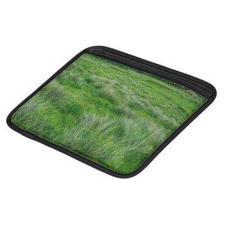 Long grasses in a vast grassland iPad sleeves