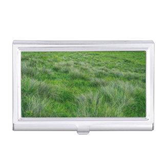 Long grasses in a vast grassland case for business cards