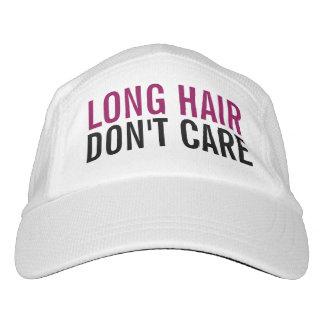Long Hair Don't Care Cute Funny Fashion Women's Headsweats Hat