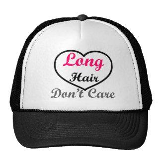 Long Hair Don't Care Trucker Hat