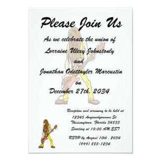long hair guitar man musician yellow.png personalized invite