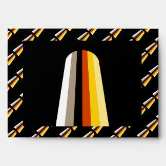 LONG HAIR PRIDE FLAG ENVELOPE