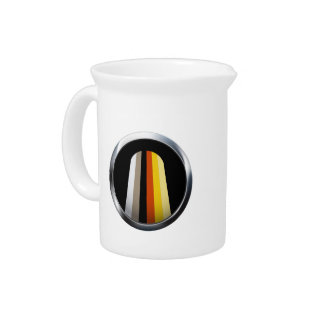 LONG HAIR PRIDE MEDALLION BEVERAGE PITCHERS